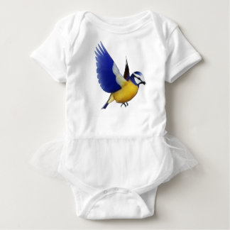 Blue Bird Baby Bodysuit