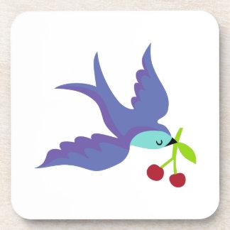 Blue Bird Beverage Coaster