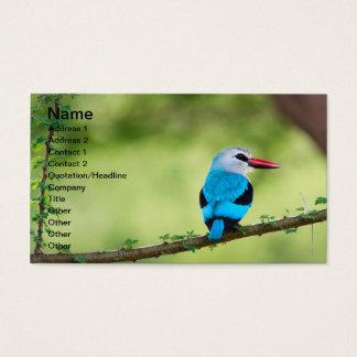 Blue bird business card