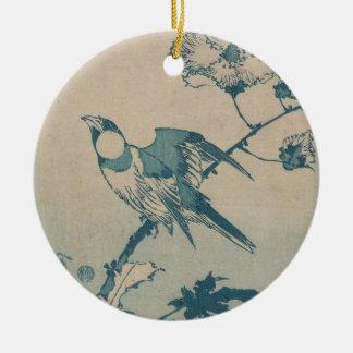 Blue Bird Ceramic Ornament
