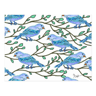 Blue Bird Conference Postcard