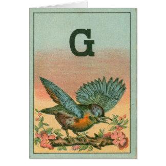 blue bird g card