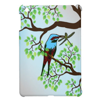 Blue Bird in Trees iPad Mini Covers