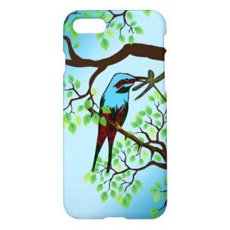 Blue Bird in Trees iPhone 8/7 Case