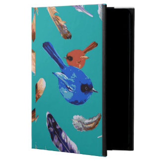 Blue Bird iPad Air 2 Case with No Kickstand