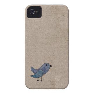 Blue Bird iPhone 4 Cases