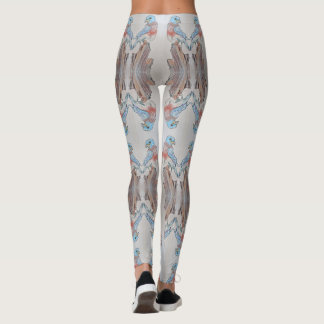 Blue Bird Leggings
