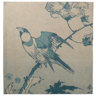 Blue Bird Napkin