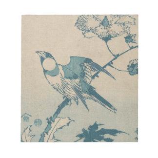 Blue Bird Notepad