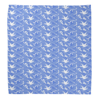 Blue Bird of Happiness / Blue Love Birds Bandana