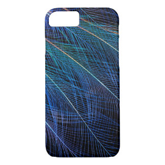 Blue Bird Of Paradise Feather Abstract iPhone 8/7 Case