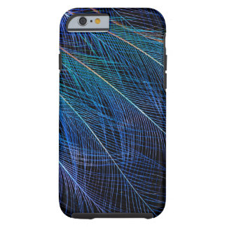 Blue Bird Of Paradise Feather Abstract Tough iPhone 6 Case