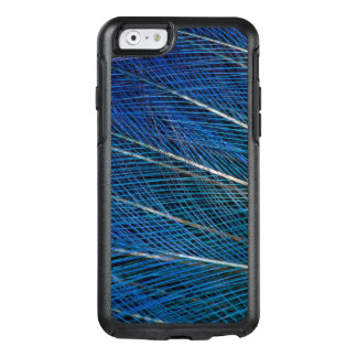 Blue Bird of Paradise feathers OtterBox iPhone 6/6s Case