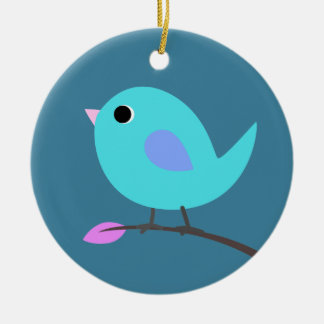 Blue Bird Ornament