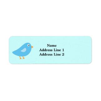 Blue Bird Return Address Labels