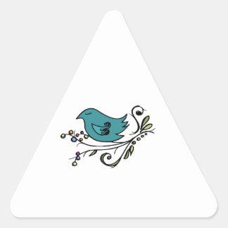 Blue Bird Stickers