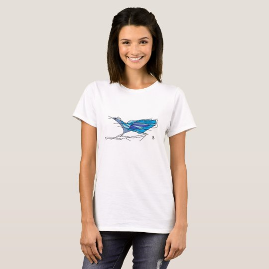 blue bird tee-shirt T-Shirt