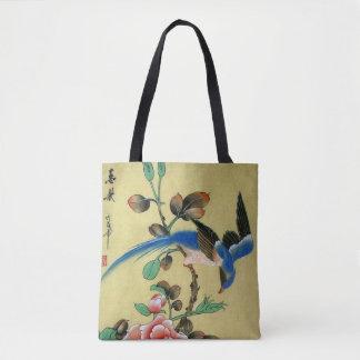 Blue Bird Tote Bag