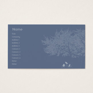 Blue Birds - Business Business Card