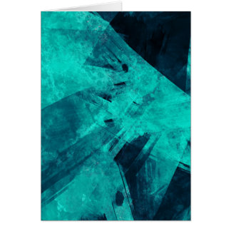 Blue-Black painting Card