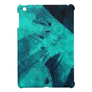 Blue-Black painting iPad Mini Cover