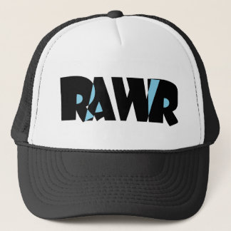 Blue Black Rawr Hat