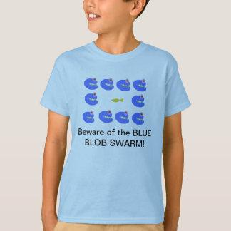 Blue Blob swarm T-Shirt