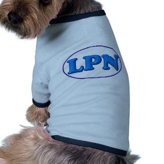 Blue Blue LPN Pet Tee Shirt
