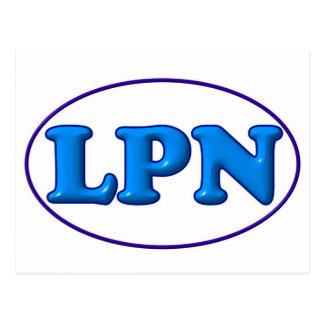 Blue Blue LPN Post Cards