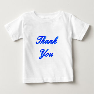 Blue Blue Thank You Design The MUSEUM Zazzle Gifts Tee Shirts