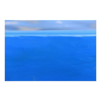 "Blue Boat Texture 36"" x 24"" Art Photo"
