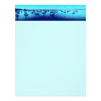 Blue Boats Letterhead