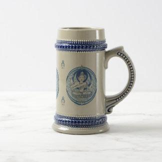 Blue Bodhisattva Brew Beer Stein