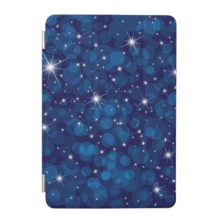Blue Bokeh Lights iPad Mini Cover