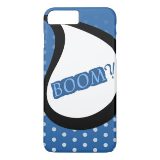 Blue Boom Apple iPhone 7 Samsung case Back Cover