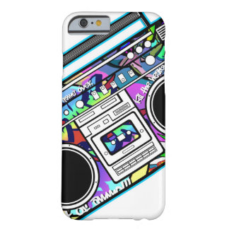Blue Boombox Barely There iPhone 6 Case