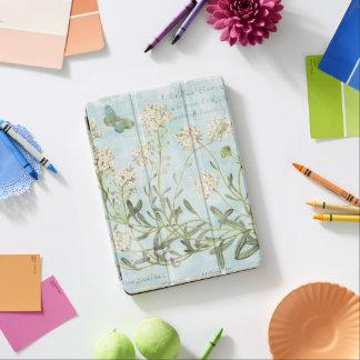 Blue Botanical iPad Air Cover