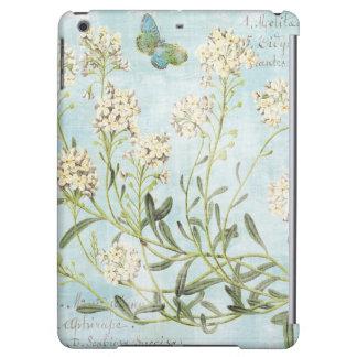Blue Botanical iPad Air Covers