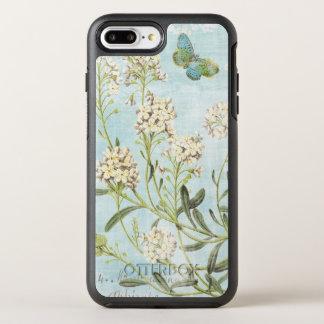 Blue Botanical OtterBox Symmetry iPhone 7 Plus Case