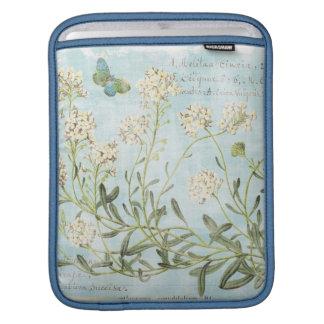 Blue Botanical Sleeve For iPads