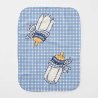 Blue Bottle - Burp Cloth