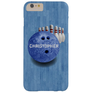 Blue Bowling Custom Ball iPhone 6 Plus Case