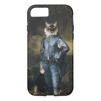 Blue Boy Cat iPhone 7 Case