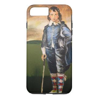 Blue Boy Golfer cell case