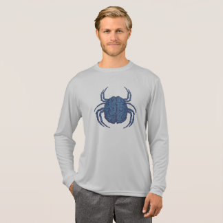 Blue Brain Bug T-Shirt