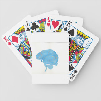 Blue Brain Poker Deck