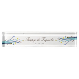 Blue Branches Nameplates