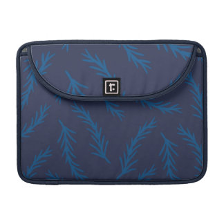 Blue Branches Sleeve for Macbook Pro