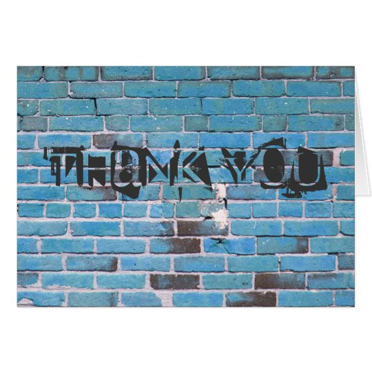 Blue Brick Urban Thank You Note Cards