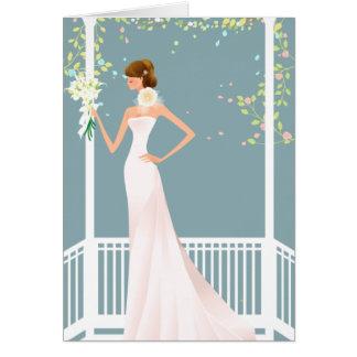 Blue Bridal Shower Invitation